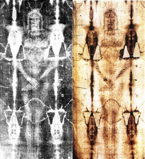 imagen completa del santo sudario