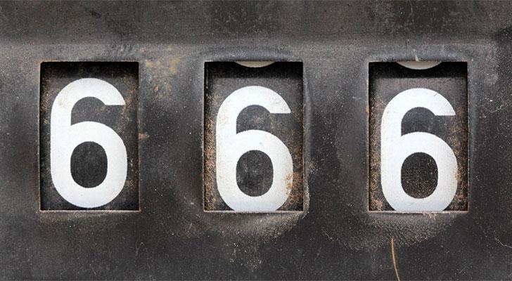 el numero del anticristo