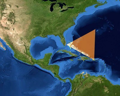 el misterioso triangulo de las bermudas