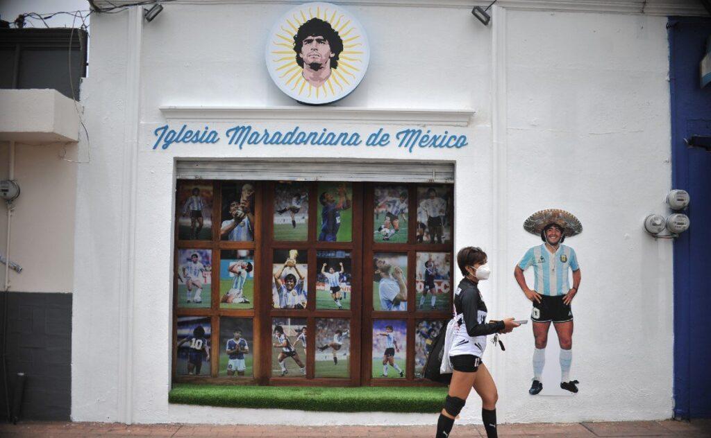 iglesia maradoniana en mexico